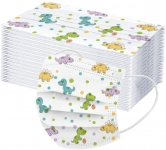 Children's Cute Animal Print Disposable Face Cover