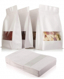 RESEALABLE STAND UP PAPER BAGS 50 PIECE