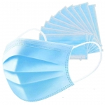 50 PCS Filter 3-ply Disposable Face Mask