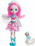 Swan Doll and Poise Figure Enchantimals