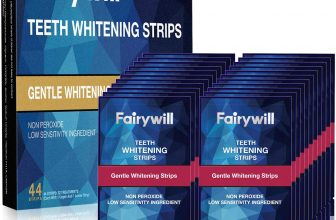 Fairywill Teeth Whitening Strips 44 Pcs