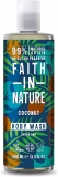 Faith in Nature Natural Coconut Body Wash, Hydrating Vegan & Cruelty Free Parabens and SLS Free 400 ml