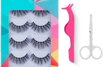 False Eyelashes DUAIU Eyelashes 5 Pairs 3D