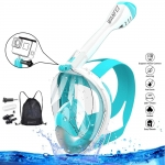 Full Face Snorkeling Mask 180° Anti-Fog