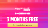 Get Amazon Music Unlimited 3 Months Free