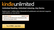 Get Kindle Ulimited 3 months free