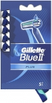 Gillette Blue II Disposable Razor Plus Sensitive – 5 pack