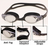 Goggles No Leaking Anti-Fog UV Protection with Ear Plugs