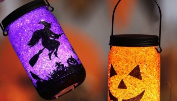 Halloween Pumpkin Lights Decorations