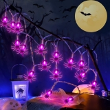 Halloween Spider String Lights
