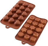 Heart Silicone Chocolate Candy Cake Candy Mould