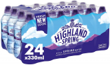 Highland Spring Still Spring Water, 24x330ml