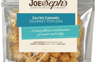 joe & sephs salted popcorn Caramel
