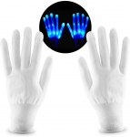 LED Skeleton Hand Gloves