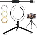 LED Ring Light 20cm/7.87″ with Tripod Stand