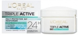 L'Oreal Paris Triple Active Day 24H Hydrating Moisturiser Normal to Combination Skin 50 ml