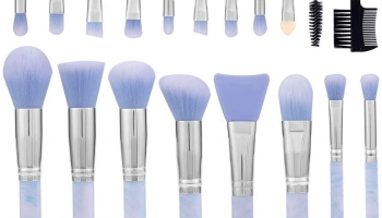 Marble Pattern Make-Up Brushes