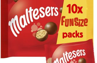 Mars Chocolate Maltesers Multipack 10 Packs of 19.5 g