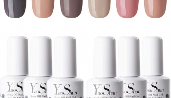 Yao Shun Nude Gel Polish Set Pack of 6