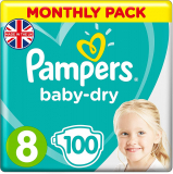 Pampers Size-8 Baby Diapers