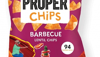 Proper Barbecue Lentil Chips 24 PCS
