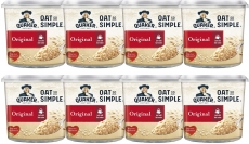 Quaker Oat So Simple Original Porridge Pots, 45 g (Pack of 8)