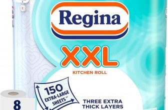 Regina XXL Kitchen Roll 8 Rolls