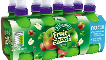 Robinsons Fruit Shoot Fruit Juice Apple, 8x200ml