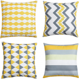 SET OF 4 Cushion Covers
