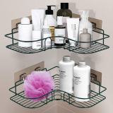 Shower Corner Caddy Storage Shelves