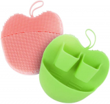 2 PACK Silicone Facial Scrubbing Pads