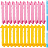 Silicone Hair Curlers with Styling Hook 50cm