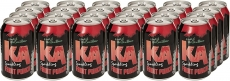 KA Sparkling Fruit Punch Fizzy Drink, 330 ml, (Pack of 24)