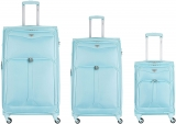 4 Wheel 800D Soft Case Suitcases Maximum Size