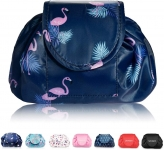 Lazy Drawstring Travel Cosmetic Make up Bag