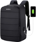 Travel Laptop Backpack, 17.3 inch Business Backpack with USB Charging