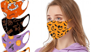 Unisex Reusable Halloween Face Mask