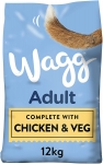 Wagg Complete Chicken and Veg dry dog food, 12kg