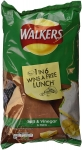 Walkers Salt & Vinegar Crisps, 6x25g