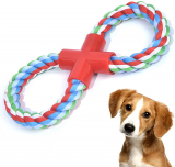 XL 8-Shaped Durable Dog Chew Toys