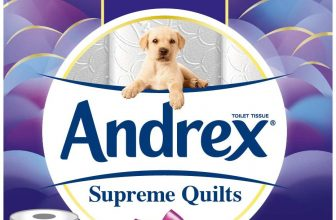 Andrex Supreme Quilts Toilet Tissue 54 ROLLS