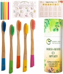 Bamboo Toothbrushes for Kids – BPA-free, Zero-waste, Eco-friendly Oral Care for Children