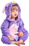 COOKY.D Unisex Winter Hooded Romper Jumpsuit 0-36 Months