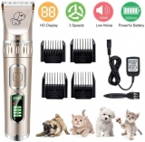 Cordless Rechargeable Electric Pet Grooming Clippers