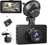 Front and Rear Dash Cam 1080P FHD