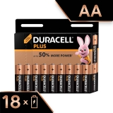 Duracell AA  batteries pack of 18