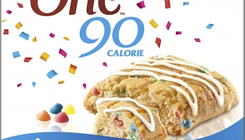 Fibre One 90 Calorie Limited Edition Birthday Cake High Fibre Squares 5×24 g
