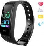 Fitness Tracker, Activity Tracking Watch with Blood Oxygen Pressure Heart Rate Sleep Monitor