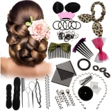 Hair Styling Set Hair Gift Kit Fashion Hair Design Styling Tools Accessories DIY Hair Accessories