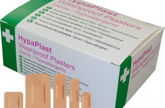HypaPlast Washproof Plasters – Assorted (Pack of 100)